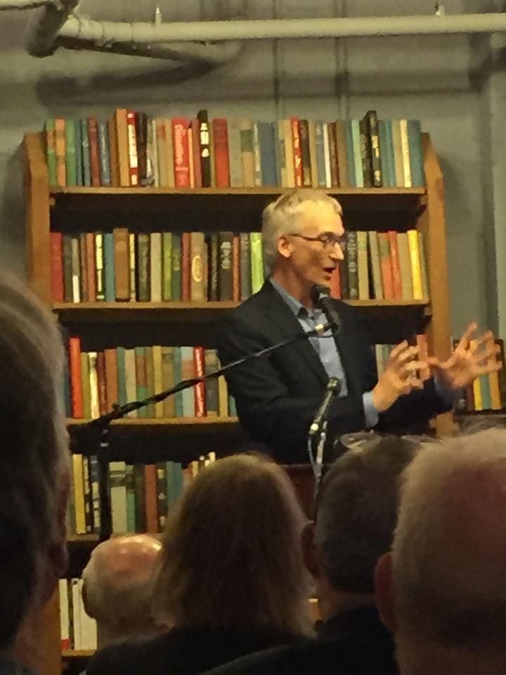 Jim neff at bookstore