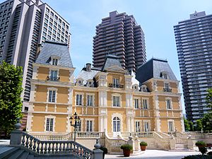 Joël Robuchon -  Robuchon's restaurants in Tokyo are located in the Château of the Yebisu Garden Place.