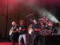 Satriani and the band