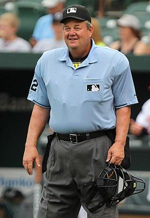 Joe West (umpire) - West in 2011