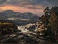 Johan Christian Dahl - Sawmill near Strand in Valdres - Elvestryk med sagbruk - KODE Art Museums and Composer Homes - BB.M.00988.jpg