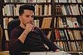 Johan Varo in Lope de Vega Library.jpg