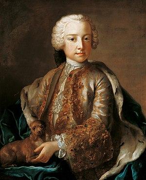 Johann Nepomuk Karl, Prince of Liechtenstein - Image: Johann Nepomuk Karl v Liechtenstein