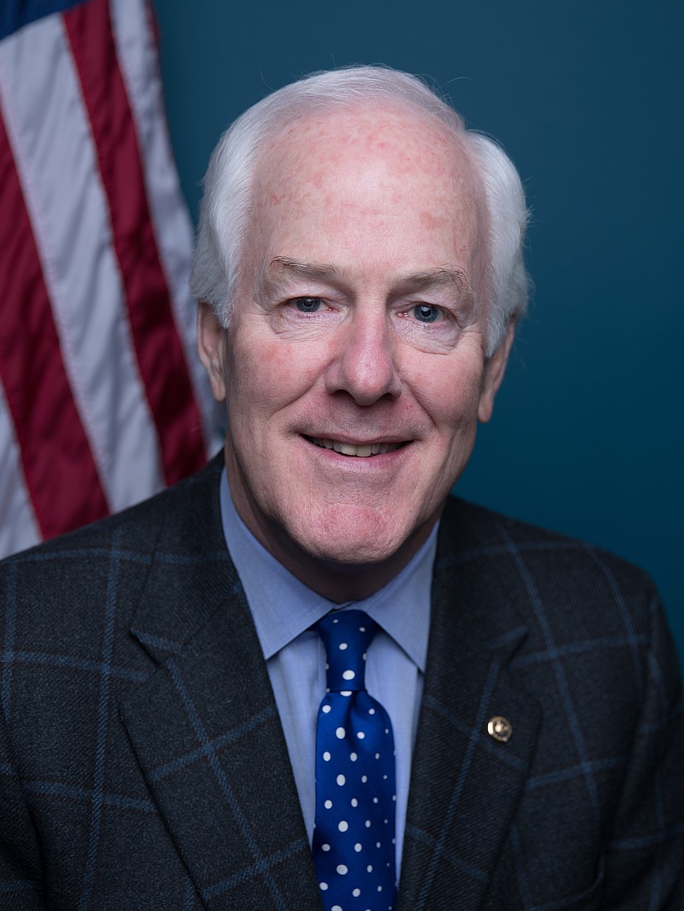 John Cornyn official senate portrait