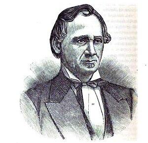 John Dement - An 1887 engraving of John Dement
