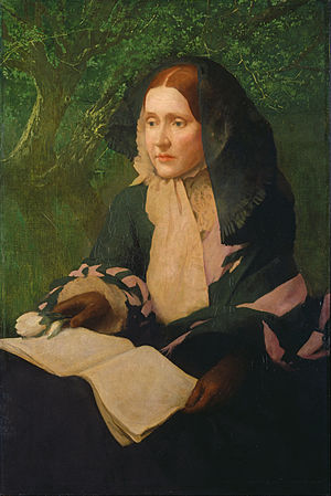 Julia Ward Howe - Portrait of Julia Ward Howe, by John Elliott, 1925