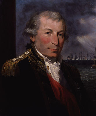 Battle of Cape St Vincent (1797) - Admiral Sir John Jervis