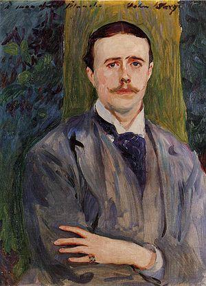 Jacques-Émile Blanche - Portrait of Jacques-Emile Blanche, John Singer Sargent, c. 1886