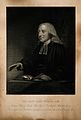John Wesley. Stipple engraving by J. Cochran after J. Jackso Wellcome V0006249.jpg