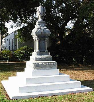 John Gorrie - Gorrie Monument in Apalachicola, Florida.