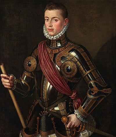 Don Juan de Austria armado, de Alonso Sánchez Coello