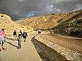 Jordan. Petra. (Drumul de intoarcere de la Petra din Defileu). DSCN1211.jpg