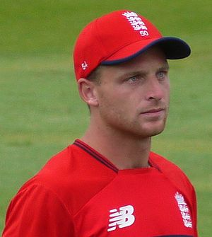 Jos Buttler - Buttler playing for England in 2017