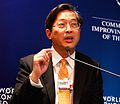 Jose Isidro N. Camacho - World Economic Forum on East Asia 2010.jpg