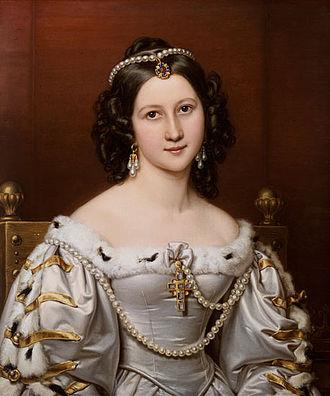 Wallenstein (trilogy of plays) - Charlotte von Hagn as Thekla, 1828