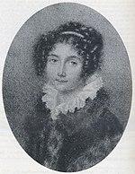 Josephine Brunsvik, pencil miniature (unknown artist), before 1804 (Source: Wikimedia)