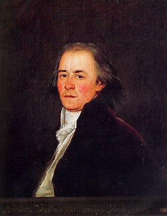 Juan Meléndez Valdés - Juan Meléndez Valdés, by Francisco de Goya circa 1797