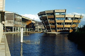 Jubilee Campus, Nottingham University. This ar...