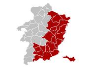 Judicial Arrondissement Tongeren2 Belgium Map