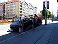 Jugoslávských partyzánů, odtah vadného auta.jpg