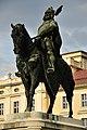 Kálmán herceg lovas szobra (05), Gödöllő.JPG