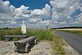 Kříž u cesty směrem na Skřípov, Brodek u Konice, okres Prostějov - detail.jpg
