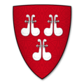 "K-028-Coat of Arms-ROS, of Helmsley-William de Ros (""Guillemes de Ros"").png"