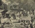 KITLV - 151093 - Demmeni, J. - Market at Payakumbuh, Sumatra - circa 1910.tif