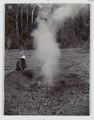 KITLV - 15684 - Kurkdjian, Ohannes - Observations after the eruption of Gunung Kelud, East Java - 1901.tif