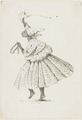 KITLV - 36B266 - Borret, Arnoldus - Dancing kotomisi - Pen and ink - Circa 1880.tif