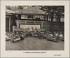 KITLV 20017 - Kassian Céphas - Wayang kulit at Yogyakarta during Sekaten (festival on the birthday of the Prophet) - Around 1896.tif