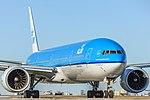 KLM Boeing 777-300ER PH-BVI at Pearson.jpg
