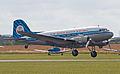 KLM DC-3 taking off (5922285225).jpg