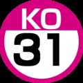 KO-31 station number.png