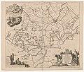Kaart van de grietenij Wymbritseradeel Wijmbritsera deel de zevende grietenije van Wester goo (titel op object), RP-P-AO-2-23B-7-2.jpg