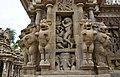 Kailasanatha Temple, dedicated to Shiva, Pallavve period, early 7th century, Kanchipuram (32) (37200282530).jpg