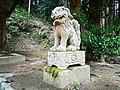 Kamakura-Jinjya(Yosano)狛犬 阿.jpg