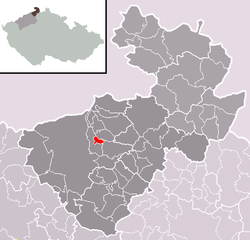Location of Kámen