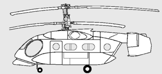 Kamov Ka-40 - Drawing of the Ka-40