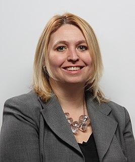 Karen Bradley British Conservative politician, MP for Staffordshire Moorlands