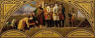 Die Übergabe von Belgrad 1789
