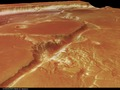 Kasei Valles, perspective view of Southern branch, looking South-West ESA232319.tiff
