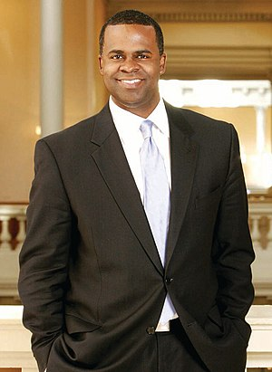 English: Kasim Reed