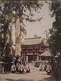 Kasuga Temple Avenue at Nara, albumen print, Honolulu Museum of Art 2016-45-01.JPG