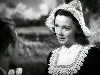 Romantic comedy film - Kathryn Grayson in Seven Sweethearts (1942), a musical romantic comedy film