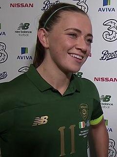 Katie McCabe Irish footballer