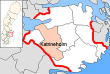 Katrineholm Municipality in Södermanland County.png