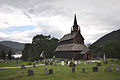 Kaupanger stave church - exterior view panorama.jpg