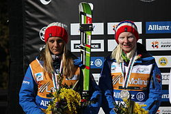 Kelly Gallagher and guide Charlotte Evans.JPG