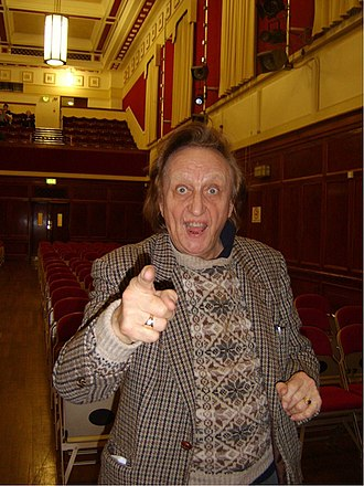 Ken Dodd - Dodd at the Civic Hall, Ellesmere Port, 2006. Stand-up theatre work was the mainstay of his career.